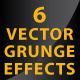 Vector Grunge Crackle Distressed Graphic Effect - GraphicRiver Item for Sale