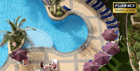 VideoHive Hotel Swimming Pool 2343425