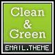 Clean and Green Email – 4 Designs  Free Download
