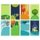 Spring Summer cards.  - GraphicRiver Item for Sale
