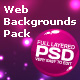 Web Backgrounds Pack - GraphicRiver Item for Sale