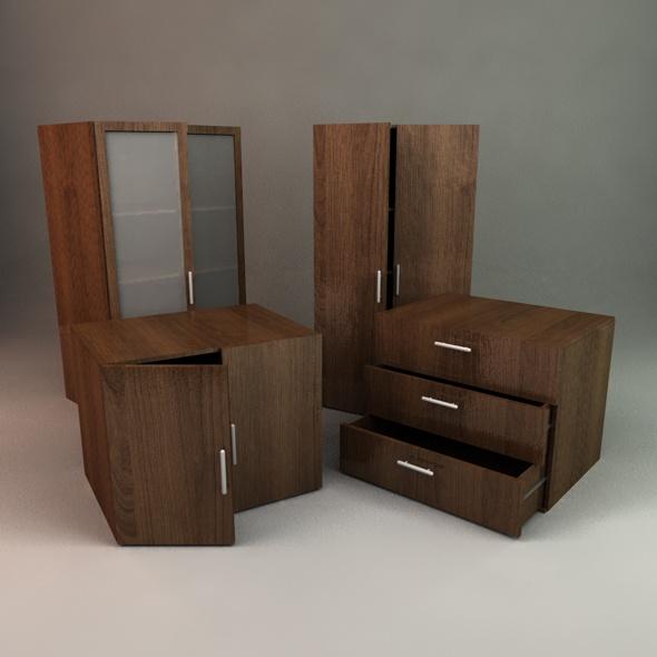 3d Models Office Storage 3docean