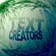Particle text creators - VideoHive Item for Sale