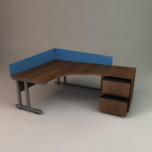 3DOcean Office Desk 71517