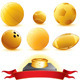 Golden Aword Balls - GraphicRiver Item for Sale