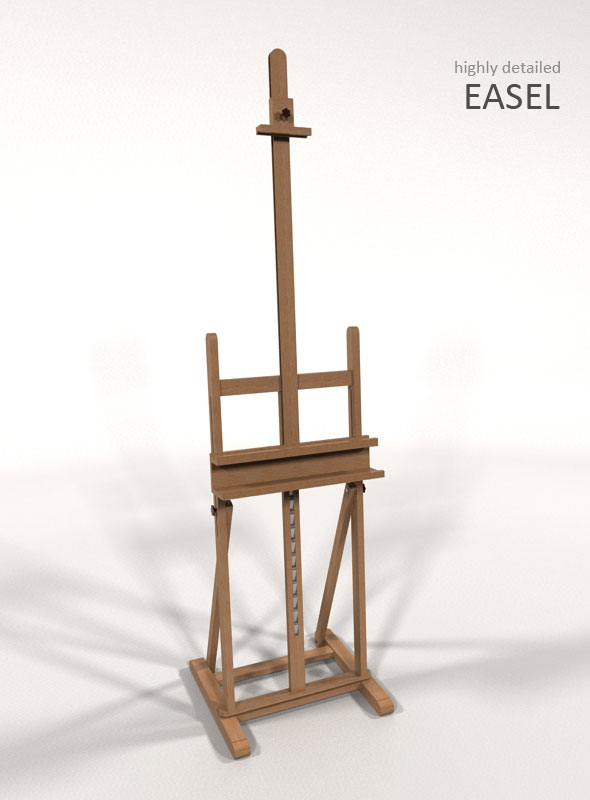 Easel - 3DOcean Item for Sale