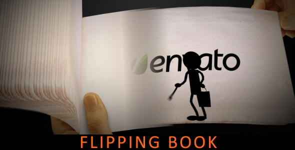 After Effects Project - VideoHive Flipping Book 2347094