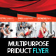 Multipurpose Fitness or Product Flyer PSD Template - GraphicRiver Item for Sale