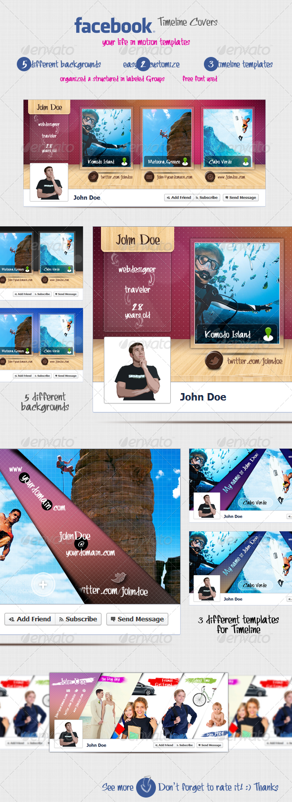 GraphicRiver Facebook Timeline Covers 2348150