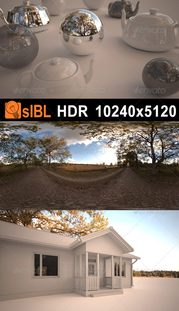 Meadow Afternoon HDR 01 - 3DOcean Item for Sale