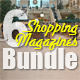 6 Shopping Magazines Bundle