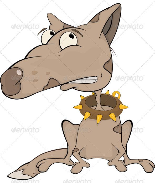 The Hunting Dog Cartoon