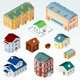 Vector Isometric House - GraphicRiver Item for Sale