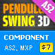 Pendulum Swing 3D Component AS2 - ActiveDen Item for Sale