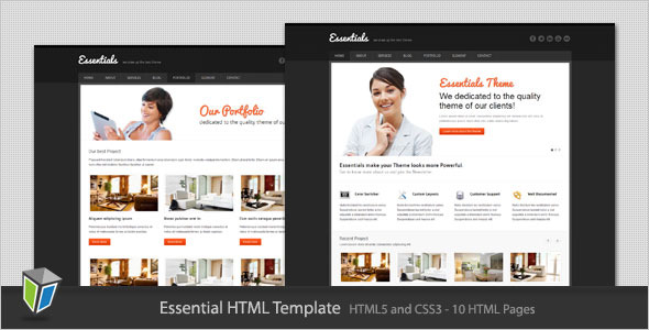 Essentials - Modern Corporate HTML Template
