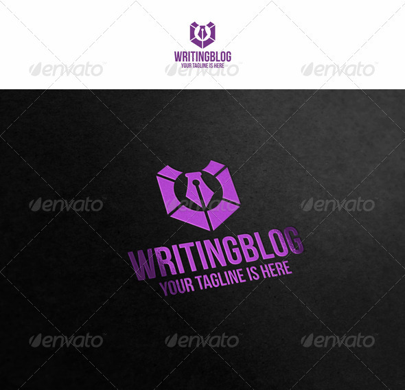 Writing Blog - Symbols Logo Templates