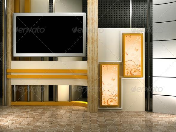 PhotoDune studio tv 2576573