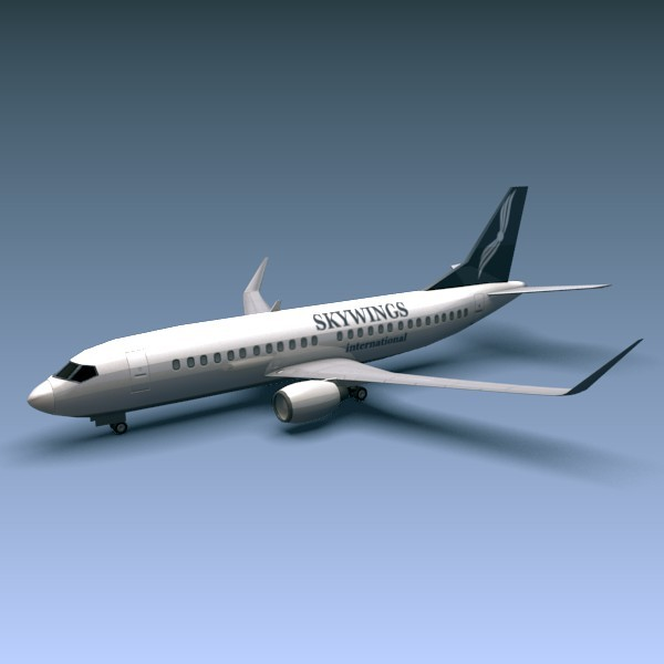 Boeing 737-300w - 3DOcean Item for Sale