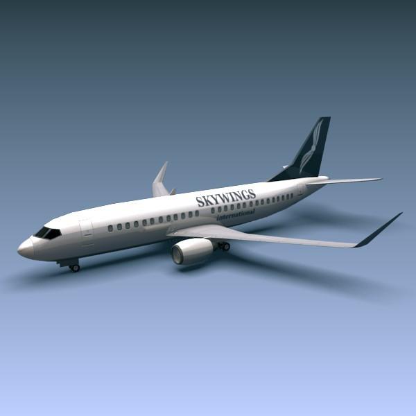 3DOcean Boeing 737-300w 265650