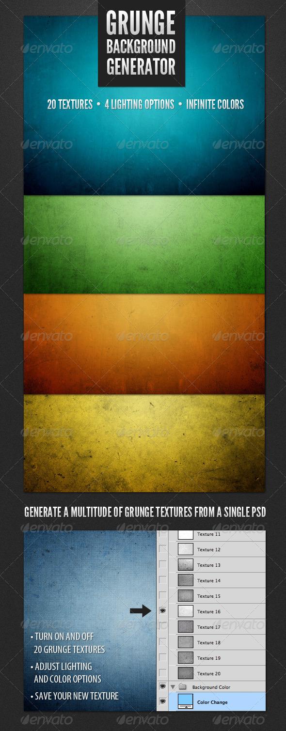 Modern Grunge Background Generator - Backgrounds Graphics