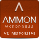 Ammon Theme for WordPress - ThemeForest Item for Sale