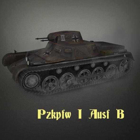 3DOcean Pzkpf I Ausf B 2352940