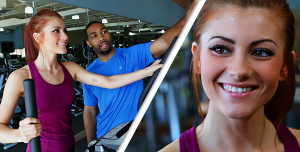 [VideoHive 2353038] Workout Trainer Stock Bundle | Stock Footage