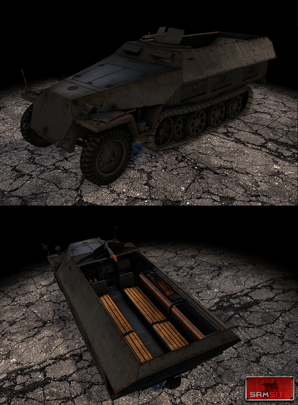 Sdkfz251 - 3DOcean Item for Sale