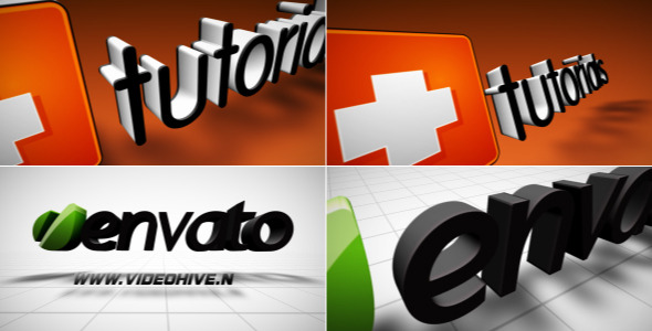 After Effects Project - VideoHive Stand Up 3D Logo 2354180