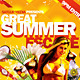 Great Summer Escape Beach /summer Party Flyer - GraphicRiver Item for Sale
