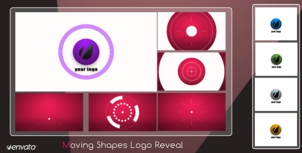 VideoHive Moving Shapes Logo Reveal 2343442