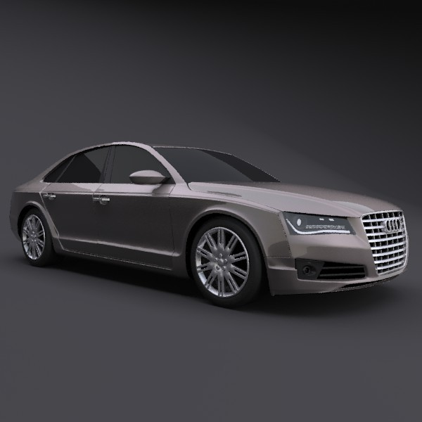 Audi A8 restyled - 3DOcean Item for Sale