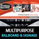 Multi-Product-Ad-Sinage-Billboard PSD Template