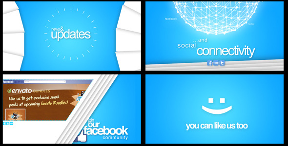 VideoHive Company Promotion Like our Facebook Page 2341057