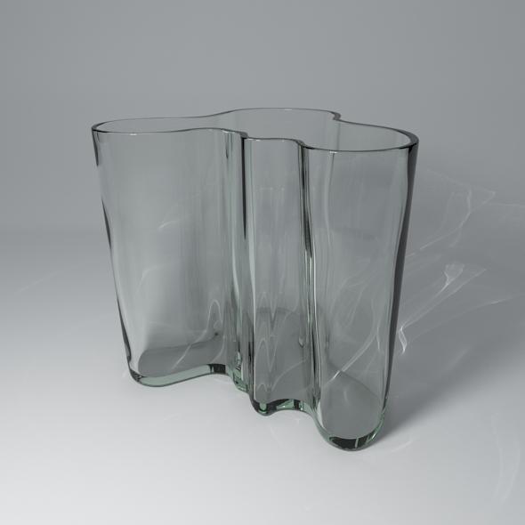 3DOcean Savoy Vase 1937 Alvar Aalto 2356917