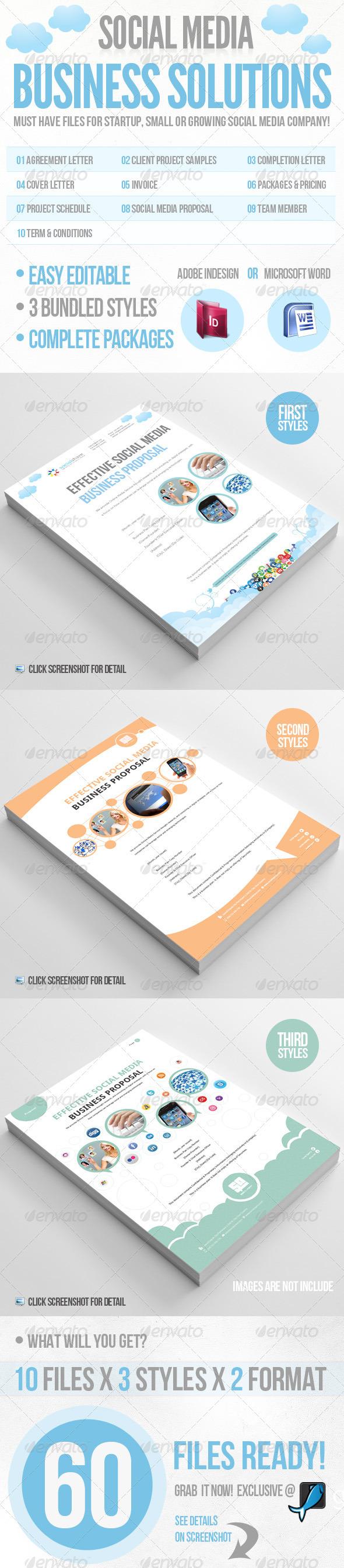 GraphicRiver Social Media Business Solution 2357275