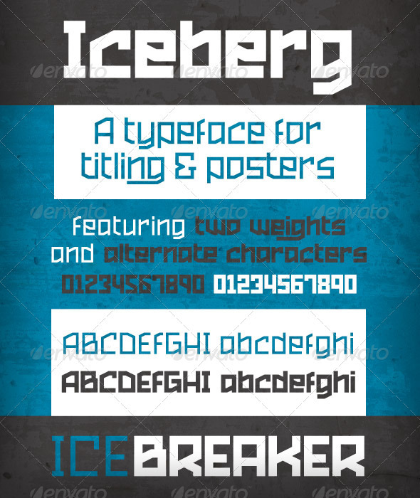 GraphicRiver Iceberg 2357750