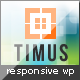 Timus - Responsive Business WordPress Theme - ThemeForest Item for Sale