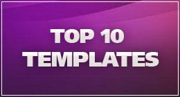 TEMPLATES: TOP 10