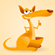 Kangaroo Animal Illustration