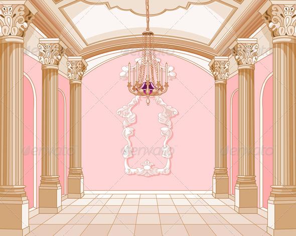 GraphicRiver Ballroom of Magic Castle 2358994