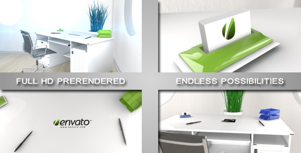 After Effects Project - VideoHive Elegant Modern Office Logo Sting 2330366