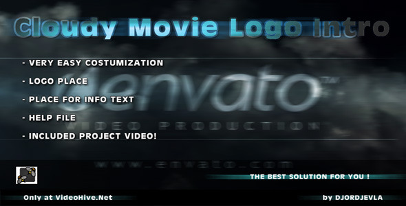 After Effects Project - VideoHive Cloudy Movie Logo Intro 266679