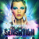 Sensation Party Flyer Template - GraphicRiver Item for Sale