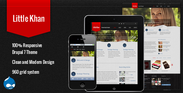 Little Khan - Responsive Drupal Theme