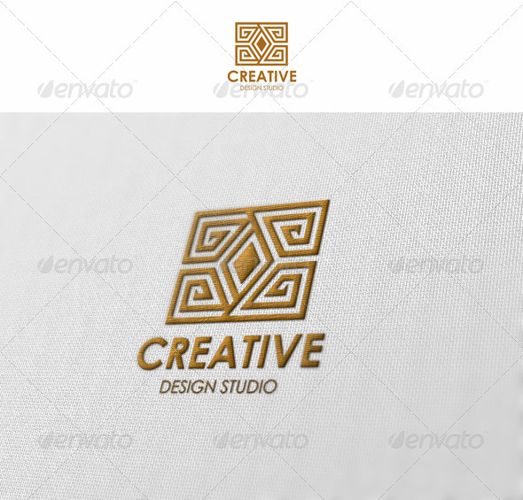 Creative - Design Studio - Abstract Logo Templates