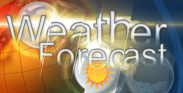VideoHive 5 projects of a weather forecast 2338520