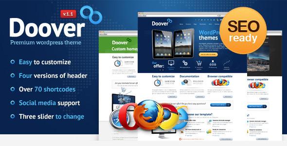 wordpress企业主题Doover 1.1