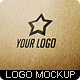 Realistic Logo Mockup - GraphicRiver Item for Sale
