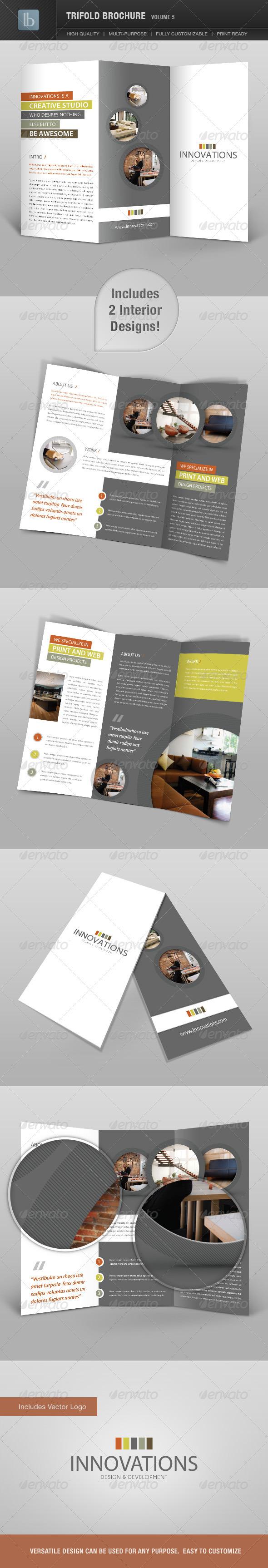 GraphicRiver Trifold Brochure Volume 5 2363921